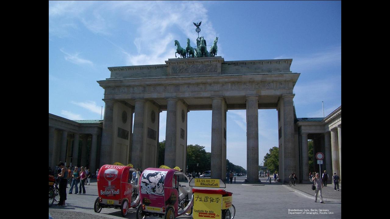 ドイツ・ベルリンのブランデンブルク門