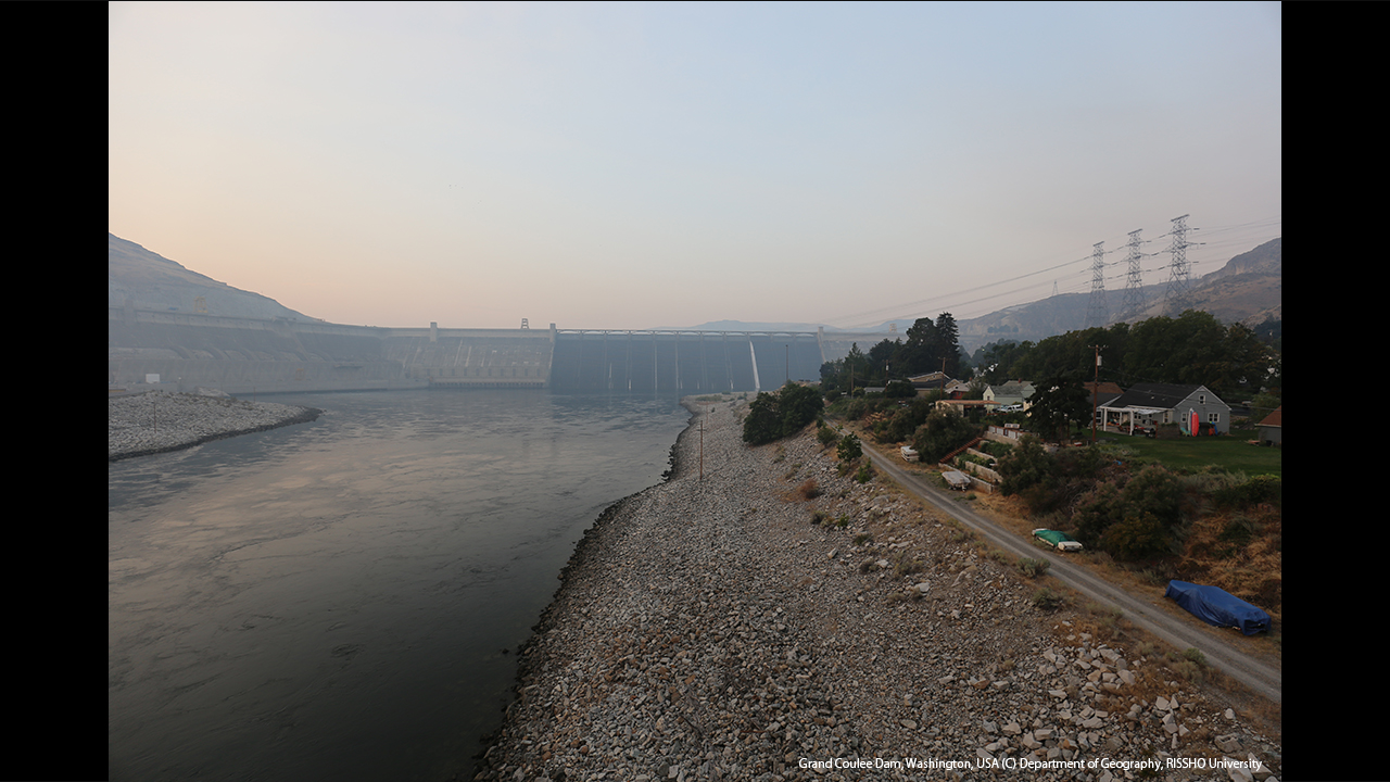 Grand Coulee Dam ワシントン州の原動力