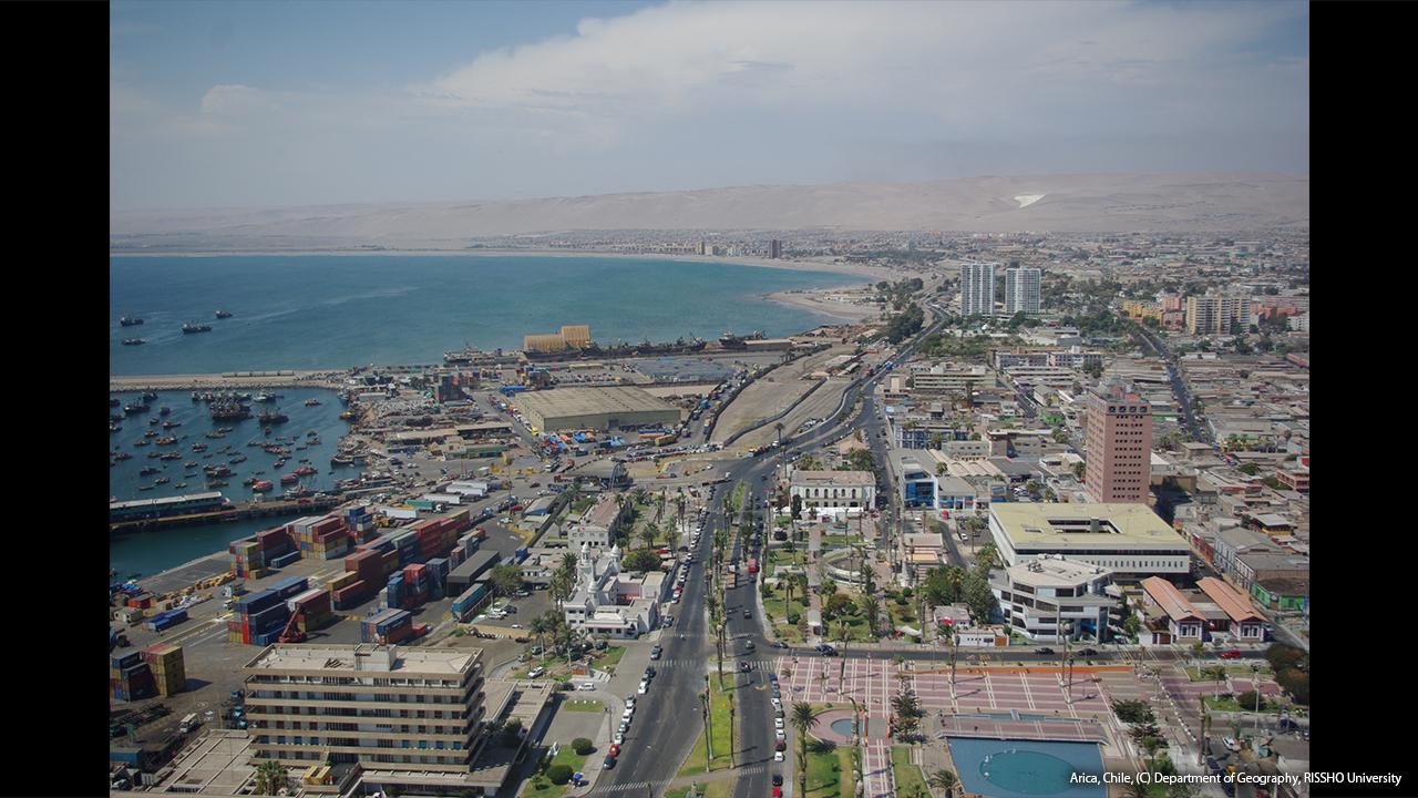 砂漠の街、アリカ