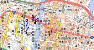 地図1_北九州市小倉北区の中心地域